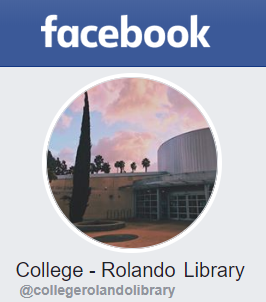 College-Rolando Library on Facebook
